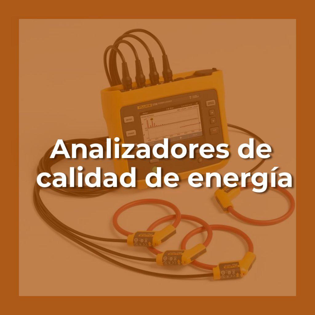 Analizadores de calidad de energía