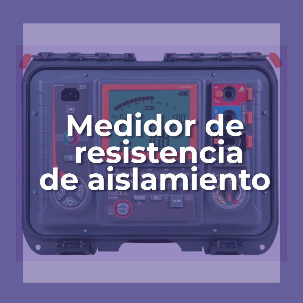Medidores de resistencias
